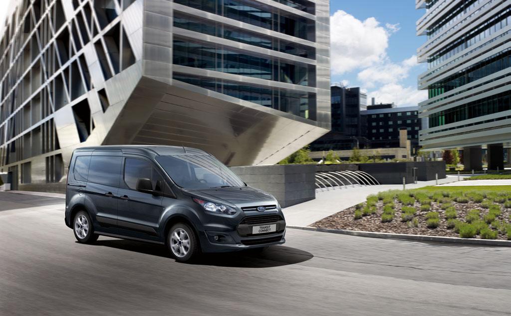 De stijlvolle, geheel nieuwe Ford Transit Connect introduceert nieuwe